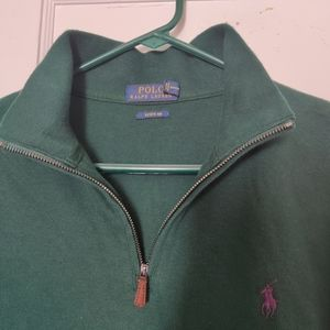 Green Polo Ralph Lauren Estate Rib
